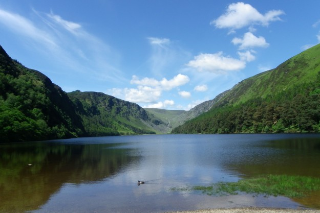 Wicklow Mountains: un lac