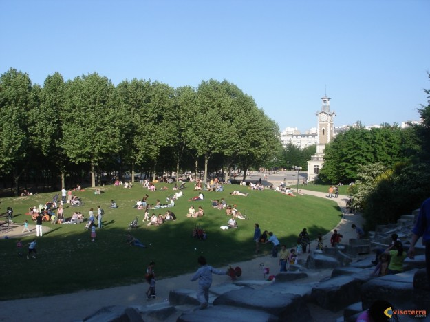 Photo parc georges brassens - Les encombrants paris 15 ...