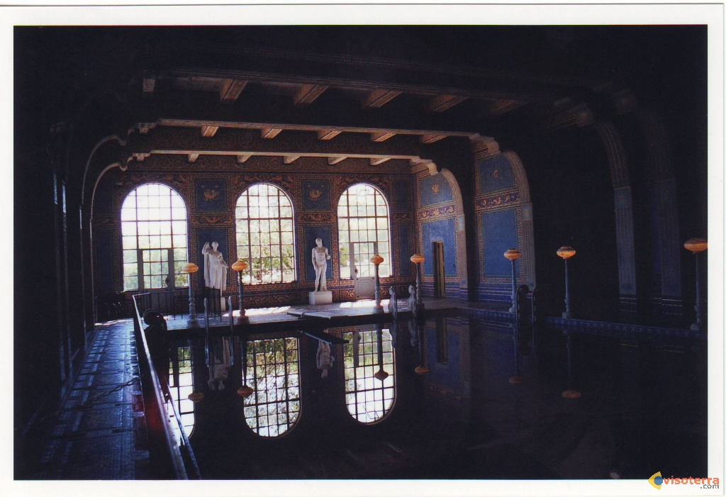 Hearst castle image 250 for Piscine interieure
