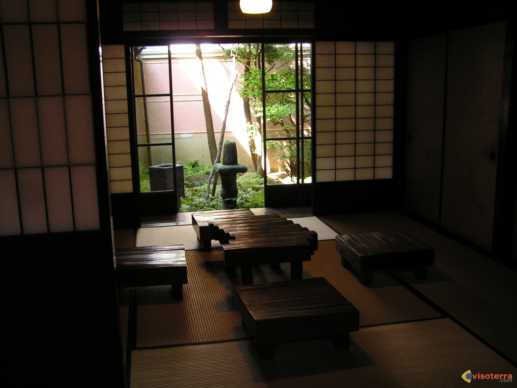 Maison japonaise traditionnelle int rieur for Interieur japonais moderne