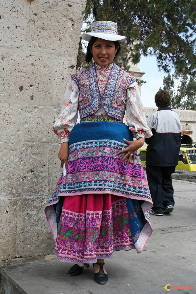 Arequipa : costume traditionnel