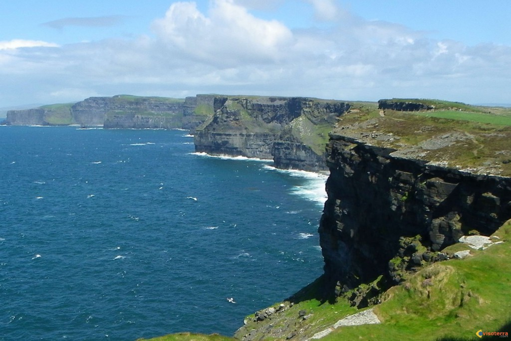 Cliffs of Moher: depuis la pointe