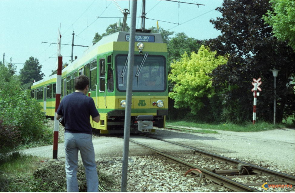 Colombier tramway actuel pour Boudry