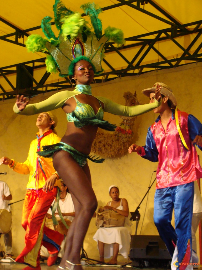 Danseuse colombienne