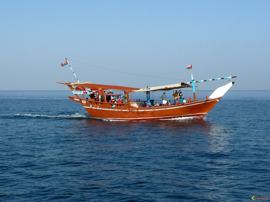 Dhow traditionnel