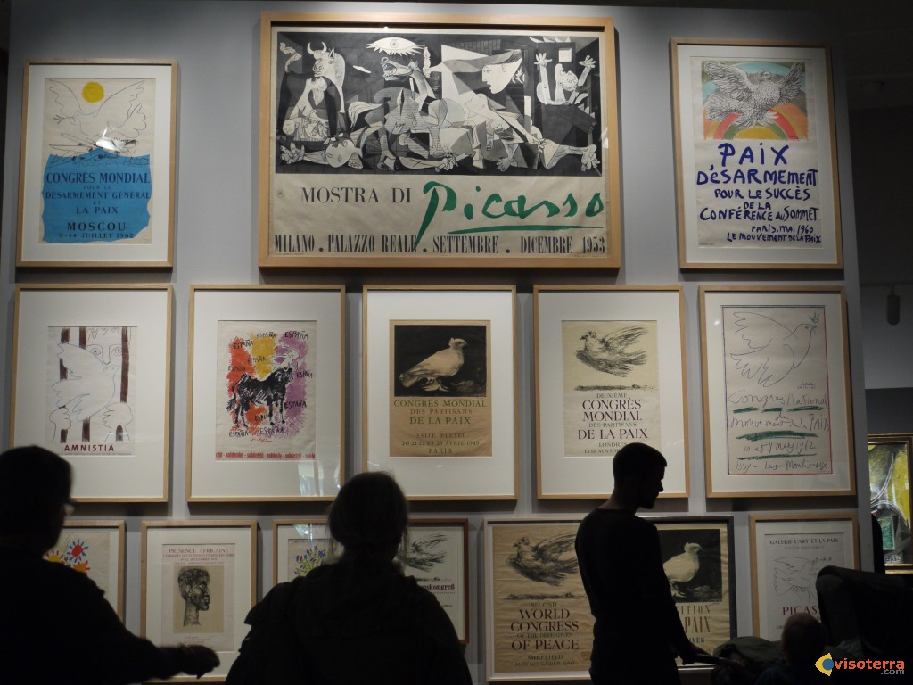 """Exposition Picasso """"Peace and freedom"""""""