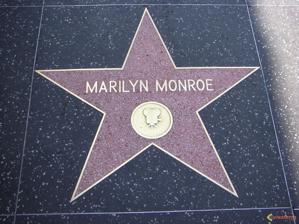 hollywood boulevard walk of fame picture to pin on