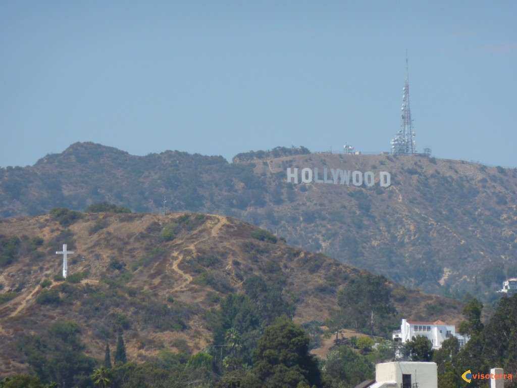 HOLLYWOOD, les lettres