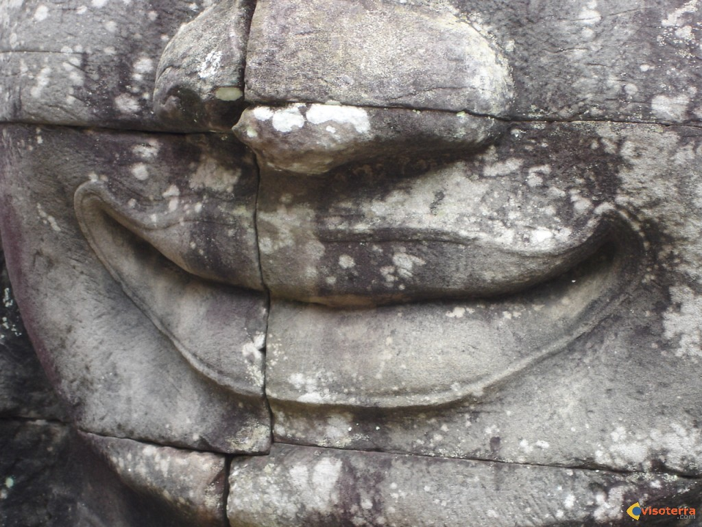 Le sourire d'Angkor