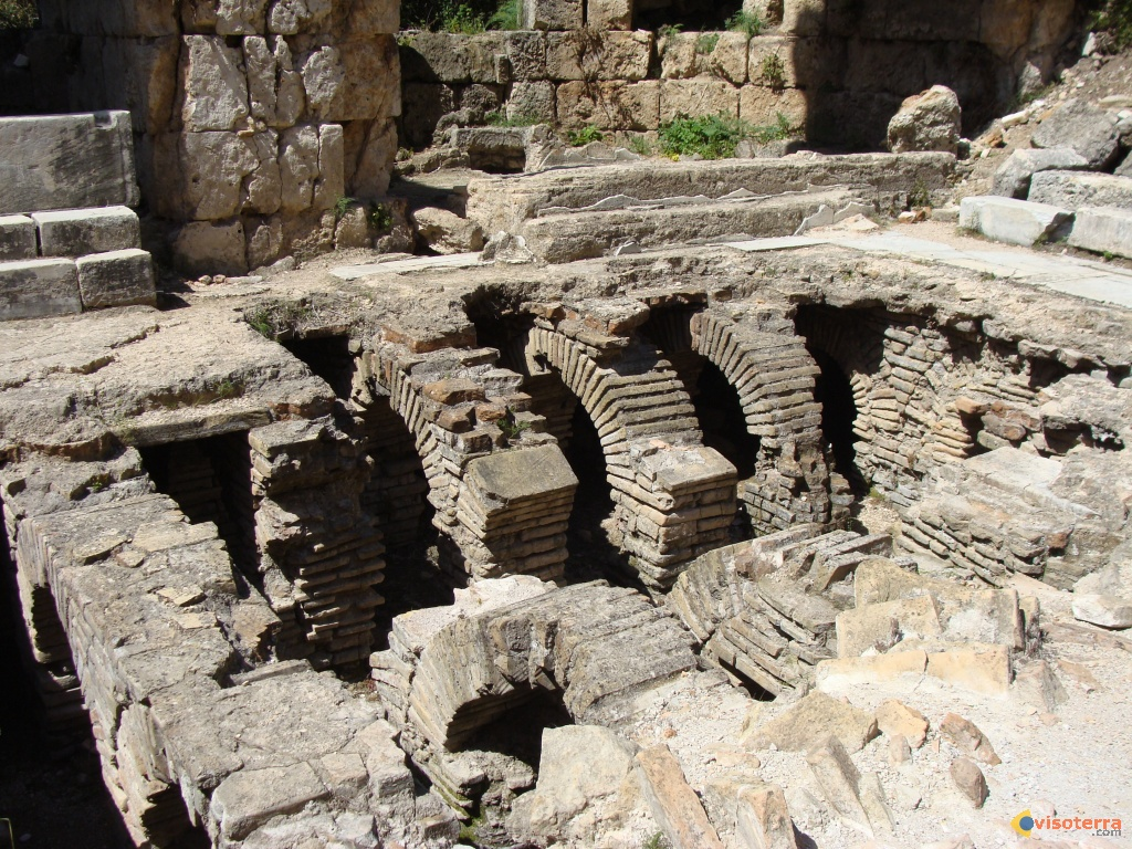 Perge: les thermes