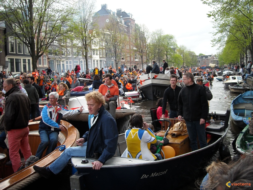 Queen day à Amsterdam 6