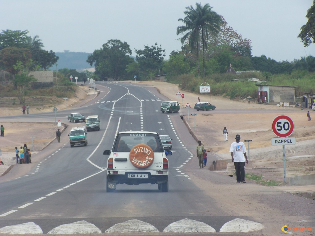 Route nationale de Brazzaville