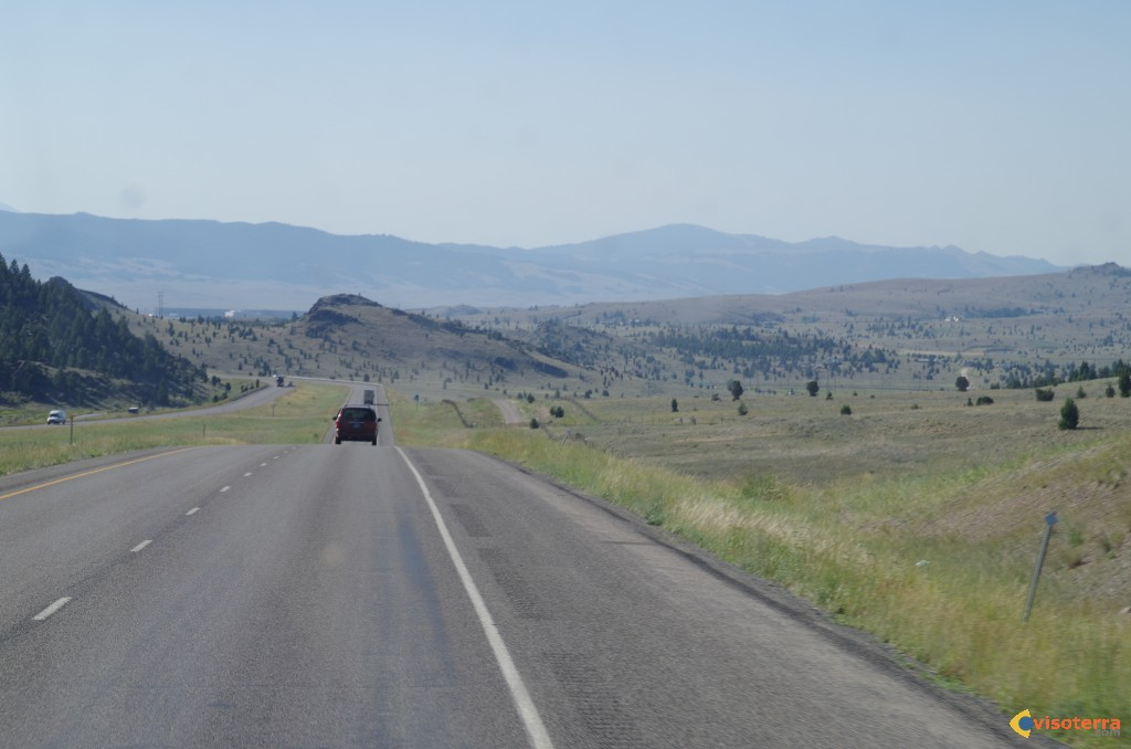 Route vers Yellowstone