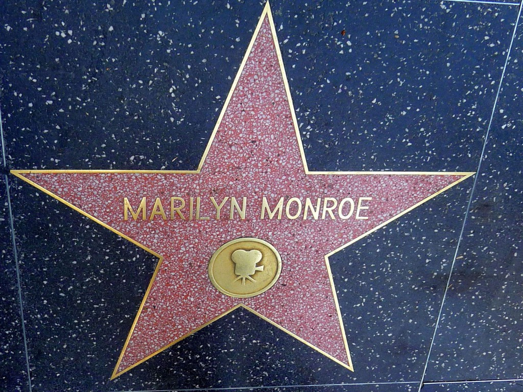 The Walk of Fame  à Hollywood
