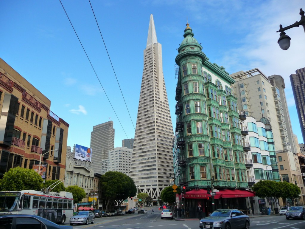 Transamerica Pyramid et Columbus Tower