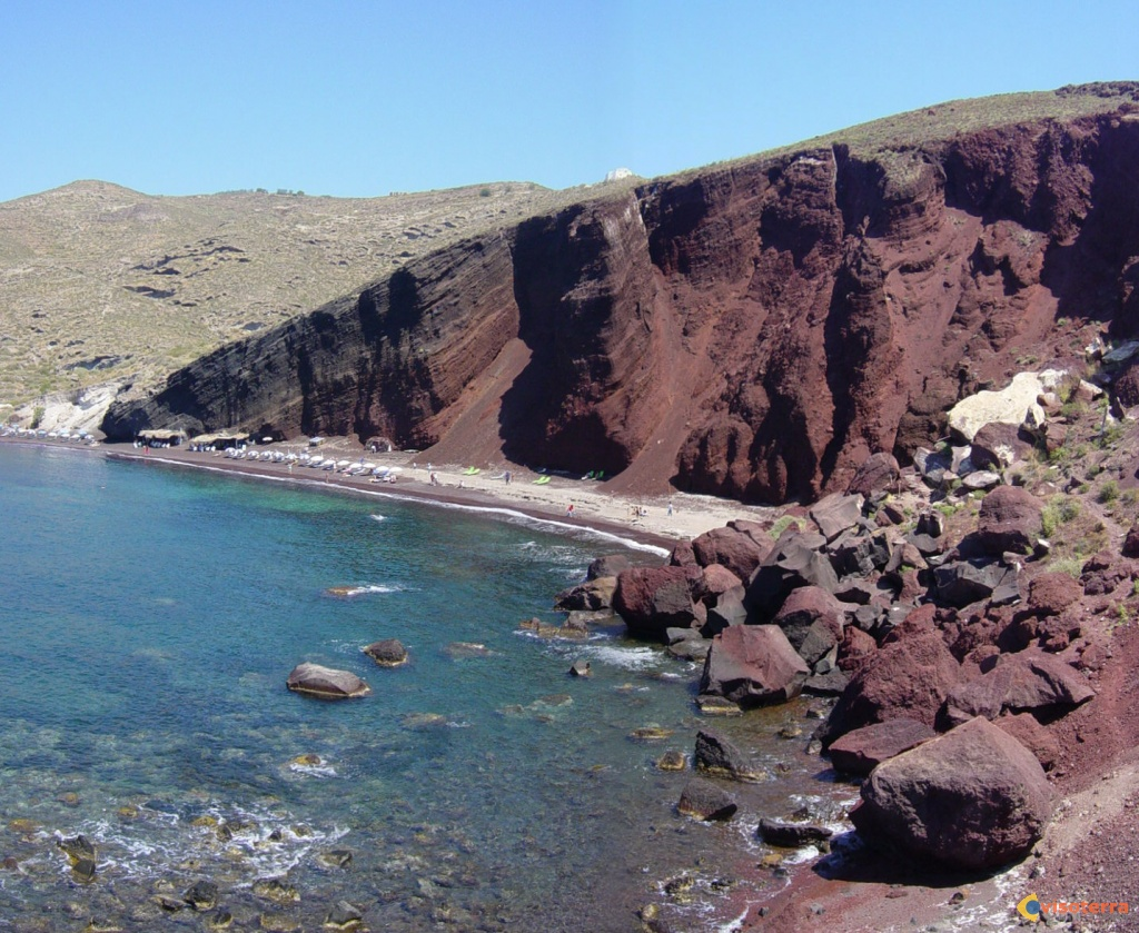 Red Beach - Santorin