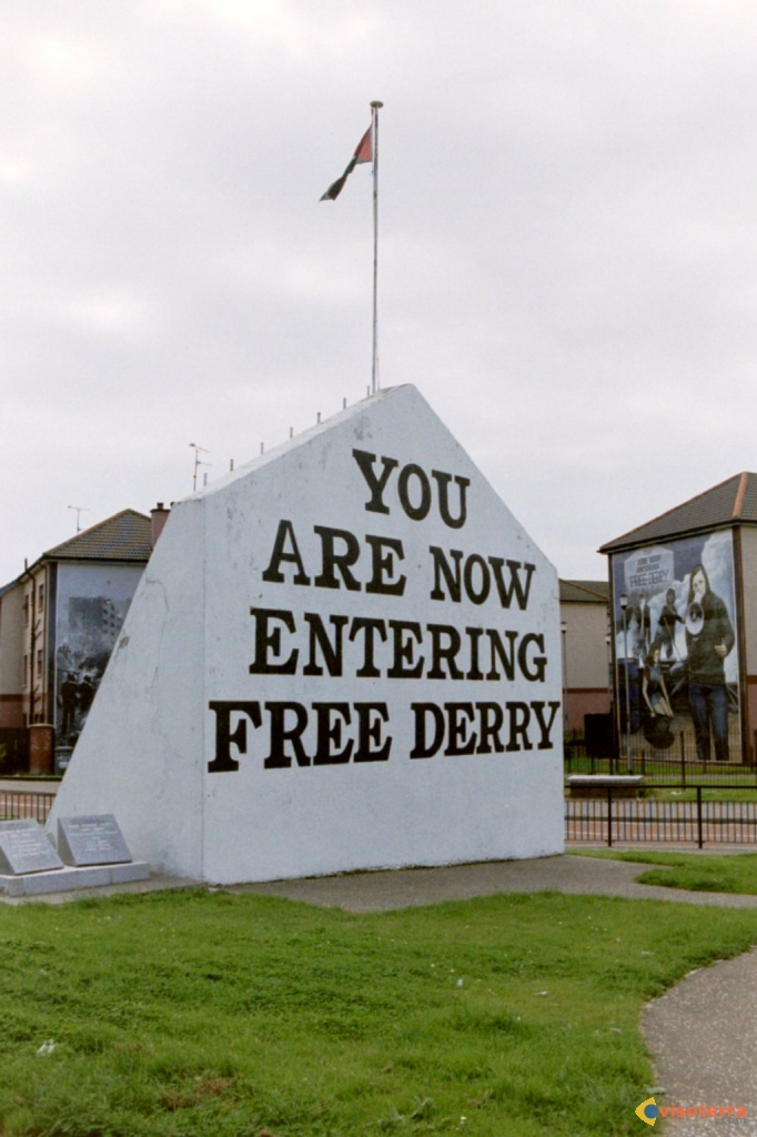 You are now entering free derry