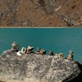 Cairns au Gokyo Lake
