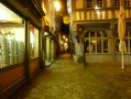 Dinan, by night