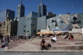 Federation square et l'Australian Center for the Moving Image