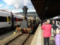 Premier train suisse et un icn