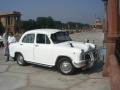 A New delhi, voiture officielle
