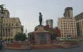 Church square et la statue de Paul Kruger