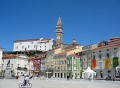 Place Tartini à Piran