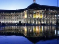 Bordeaux, place de la Bourse, by night